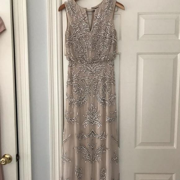 Aidan Mattox Dresses & Skirts - Blush long sequin dress